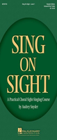 [S-8745734] Sing on Sight - A Practical Choral Sight-Singing Course - Audrey Snyder Hal Leonard Teacher Edition Softcover